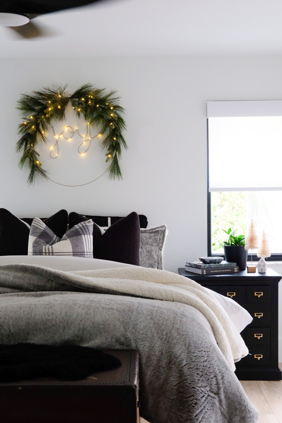 CHRISTMAS DECOR 10 // OUR MASTER BEDROOM — Me and Mr. Jones