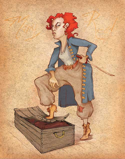 Mary Read Women Pirate