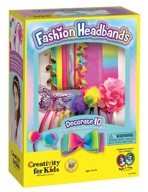 Fashion Headbands Packaging Design