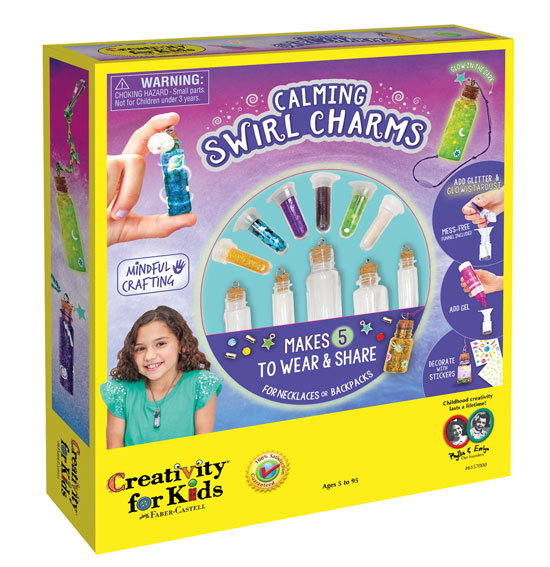 Calming Swirl Packaging design