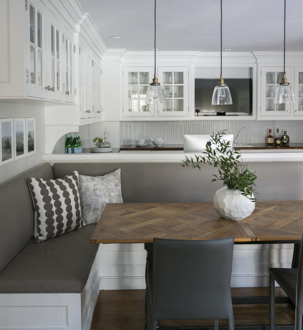 Fairfield Kitchen Banquette