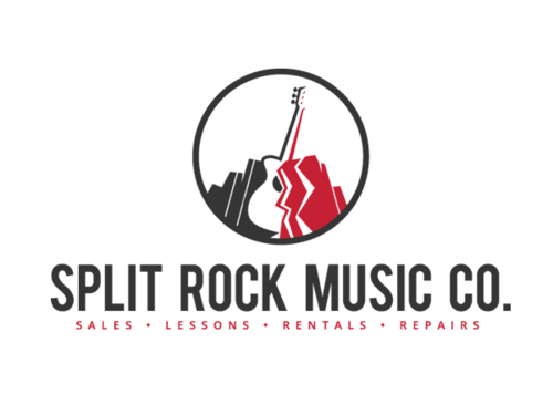 split rock music company logo