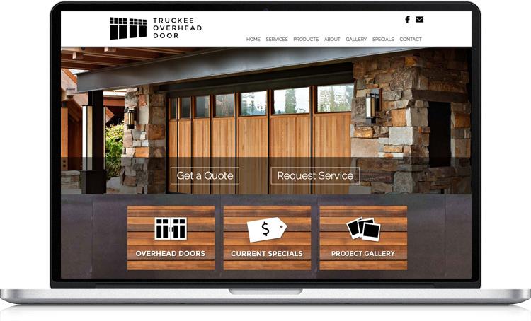 Truckee Overhead Door Launches New Website Pond Collective