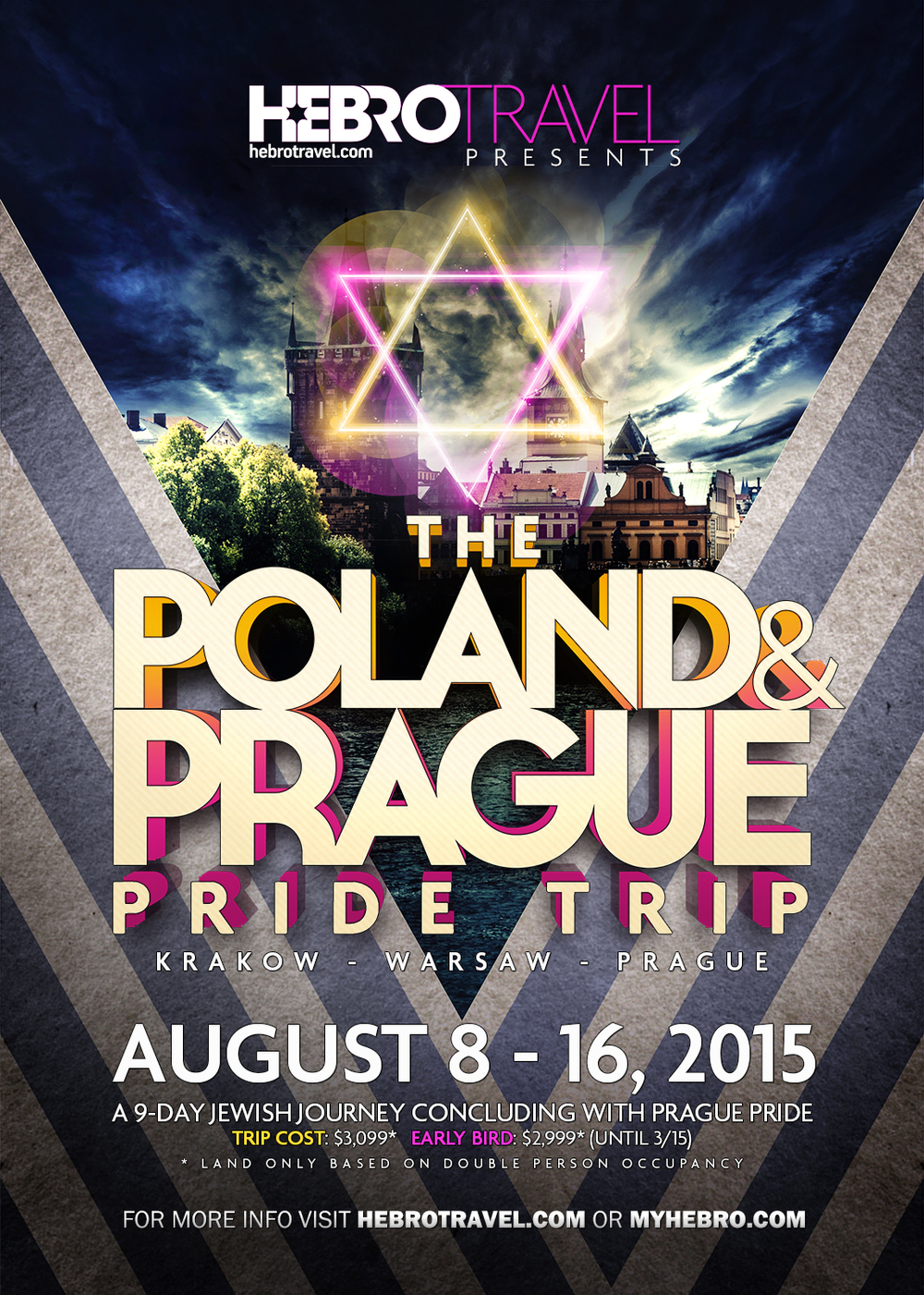 The Poland & prague pride trip