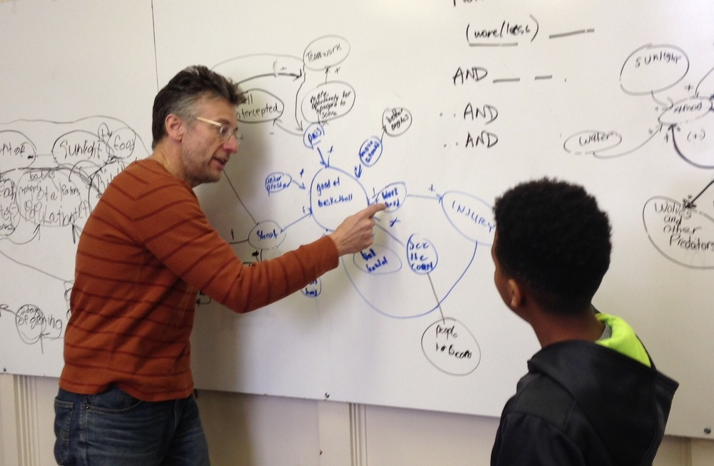Thomas Seager teaches Quentin about System Dynamics Modeling