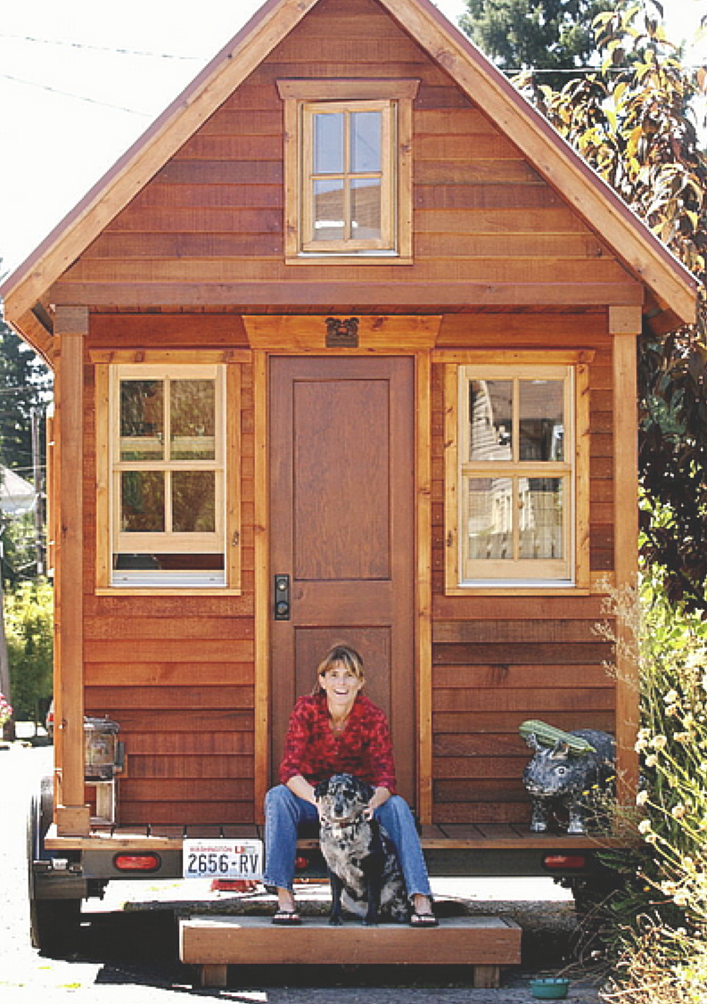 Dee Williams and her Tiny House