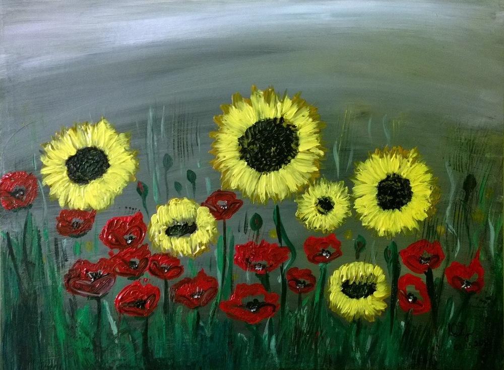 """""""Sunflowers"""" 2014"""