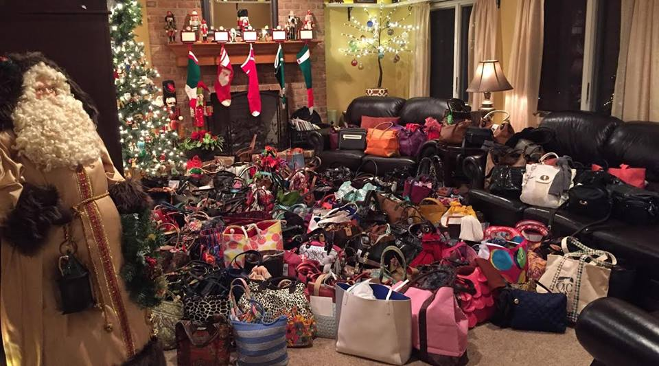 Annual Purse Project - From The Heart Consignors & Customers donate filled handbags to bless women in need during the holidays.Over 300 handbags have been distributed to date through various local charities including Berks Counseling Dress for Success, Family Promise Grace House, Hannah's Hope Ministries and the Salvation Army