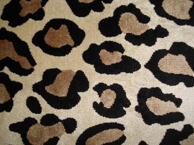 "Scalamandre ""Leopardo Delle Nevi "" Exclusive Infused Silk Leopard Velvet 