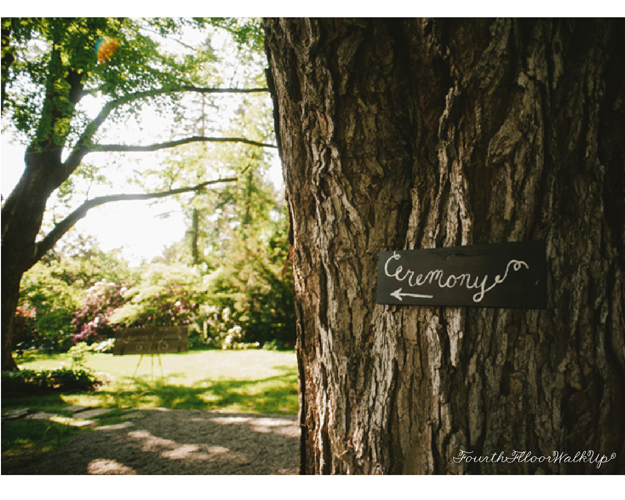 Our Wedding Signs - Photography by: Michelle Gardella, Designs by: Lauren Caron