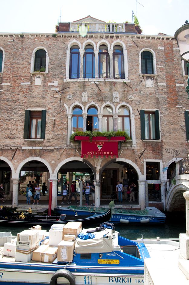 Our Hotel in Venice - Photo by: Lauren