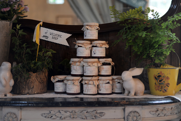 The favors were by Liebe is Jam - They produced custom labels for the event. Photograph by: Lauren Caron