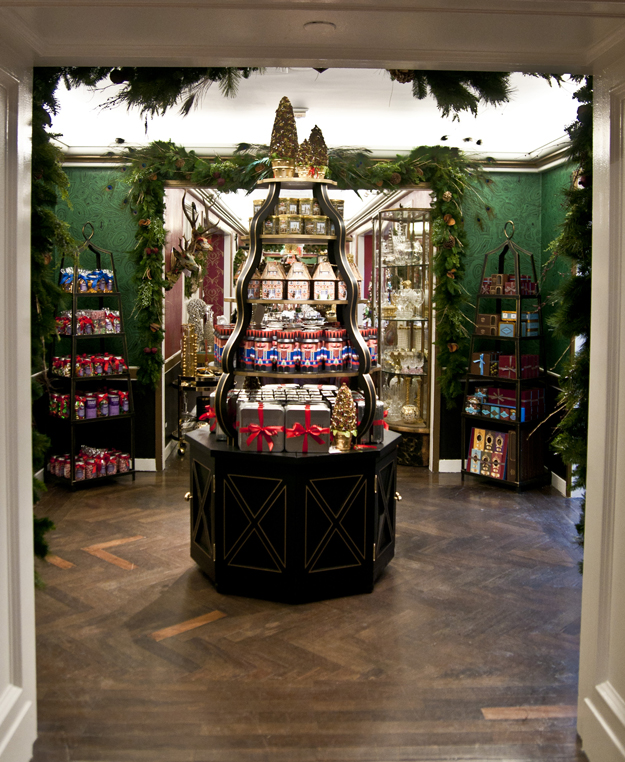 Bergdorf Goodman Hallway - Decorative Home Holiday 2013 Designed by: Lauren Caron