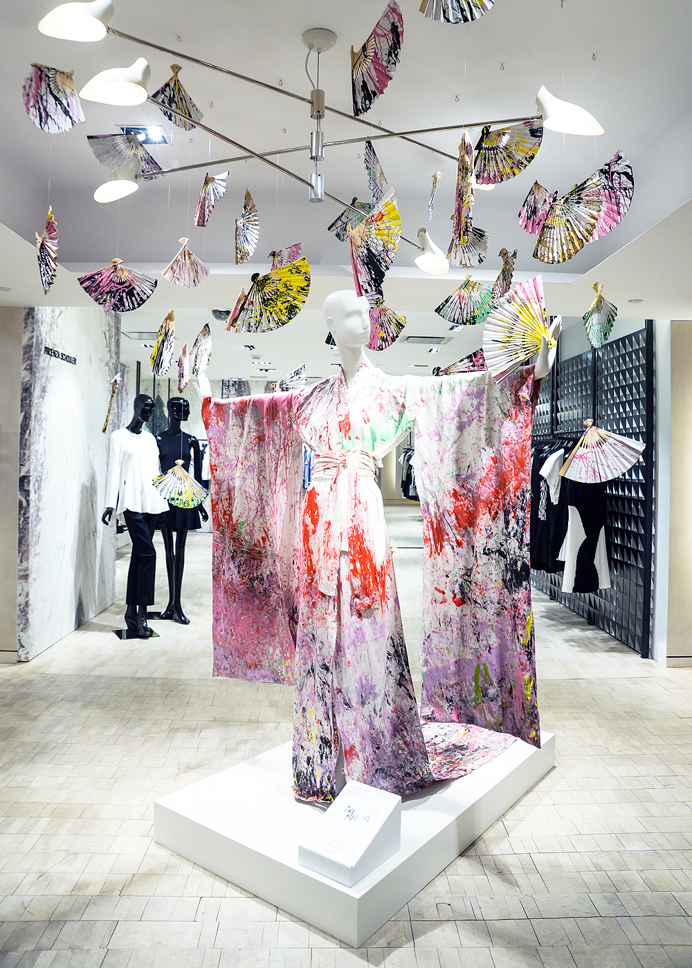 Andrea Mary Marshall - Fashion Fans, 2014 / photo courtesy of Bergdorf Goodman