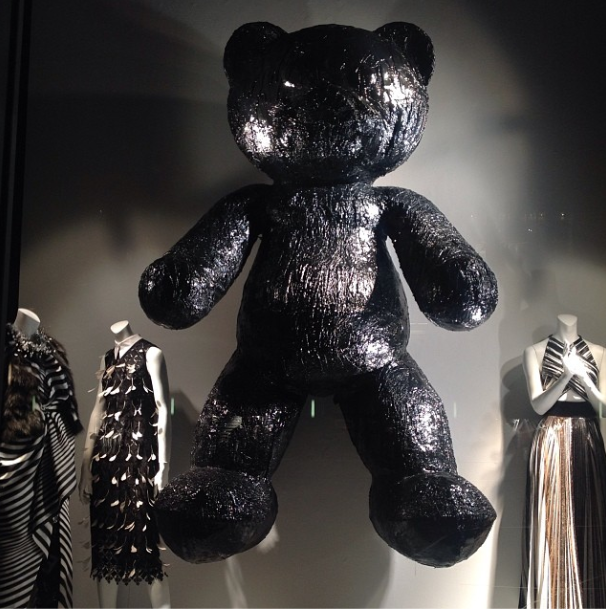 Mattia Biagi - Teddy 212, 2014 - Photo via Instagram, RGundersonNYC