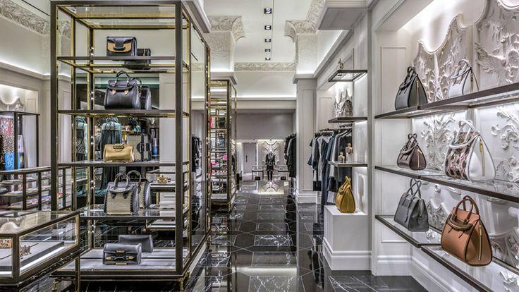 Alexander McQueen Boutique designed by: David Collins