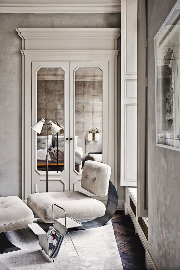 Venetian Plaster Walls | Joseph Dirand