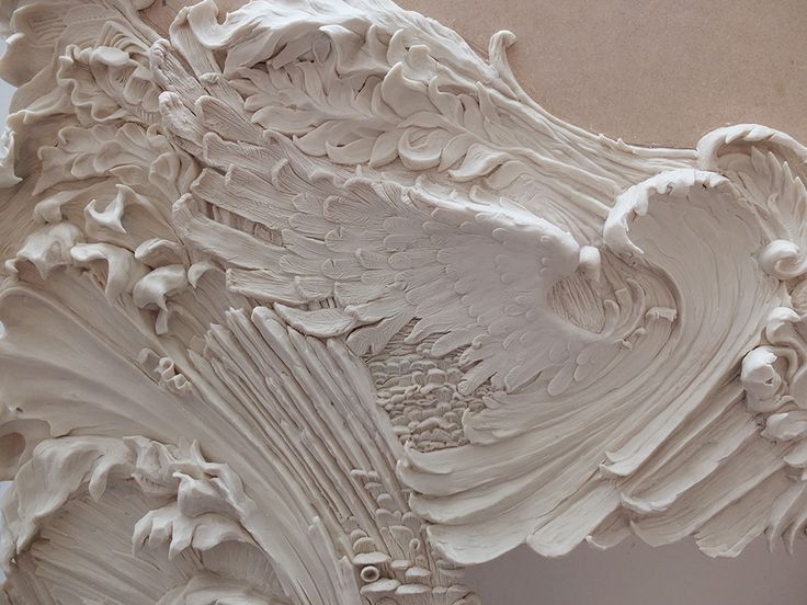 Alexander McQueen plaster work by Chisel and Vice