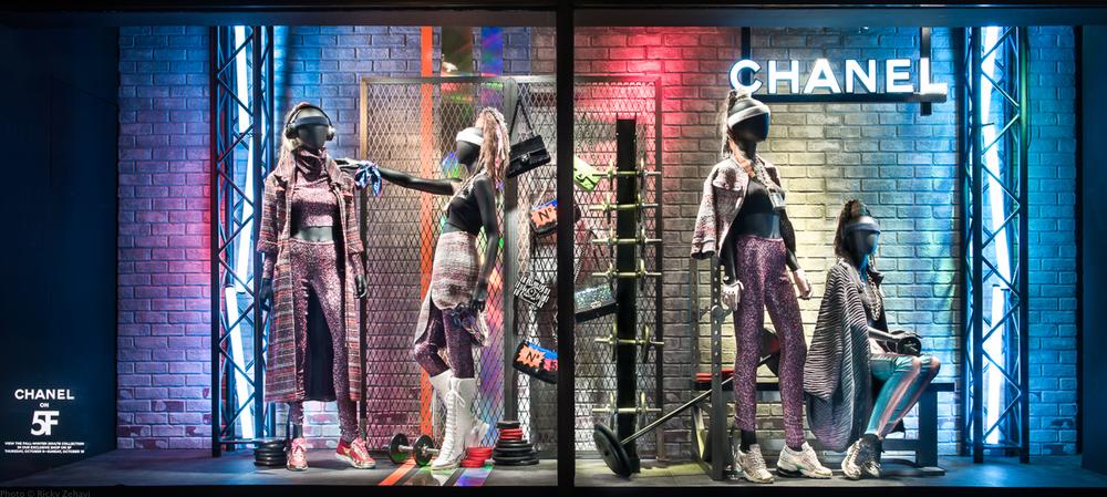 Chanel Window - Pop Up @ Bergdorf Goodman - Photo from Bergdorf Goodman