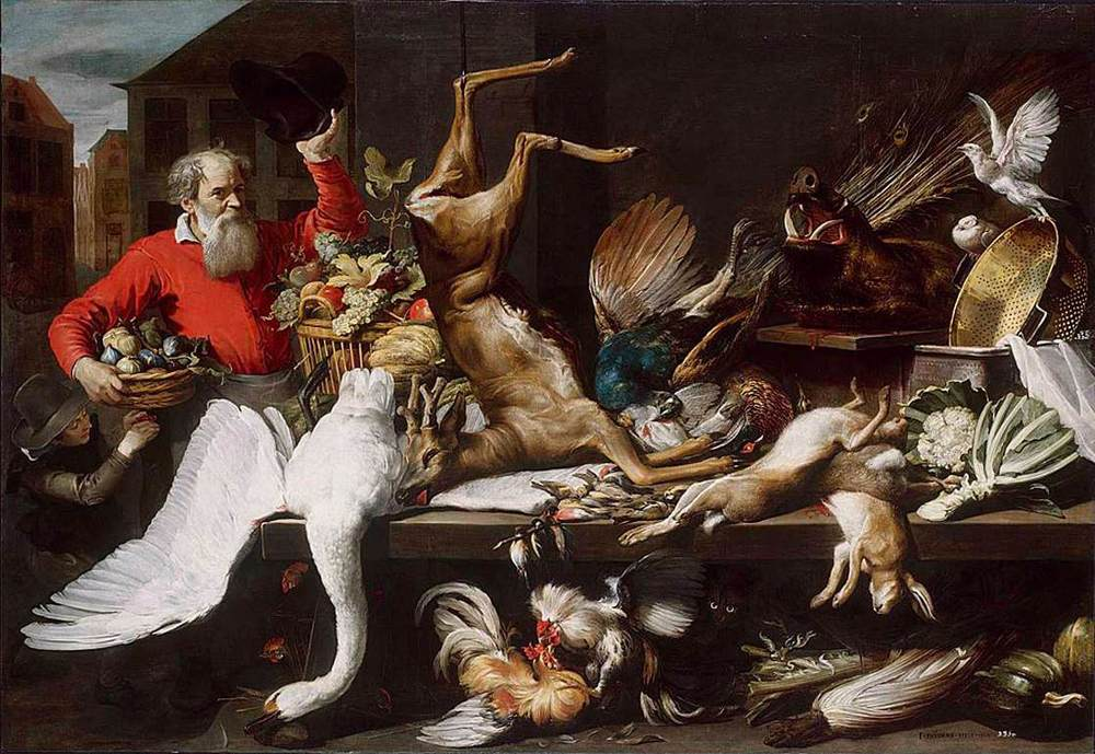 Frans Snyders | Market Stall