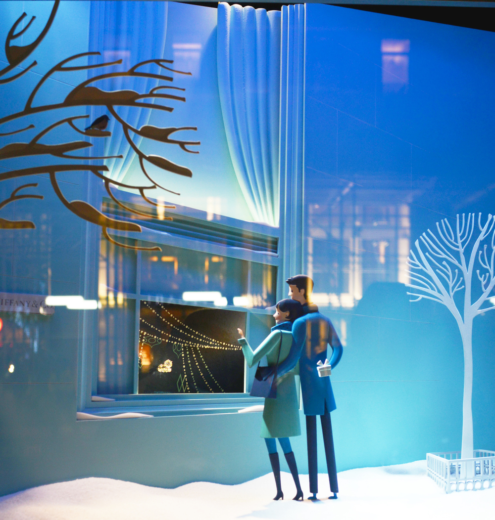 Tiffany & Co. Window Display - Lauren Caron © 2014
