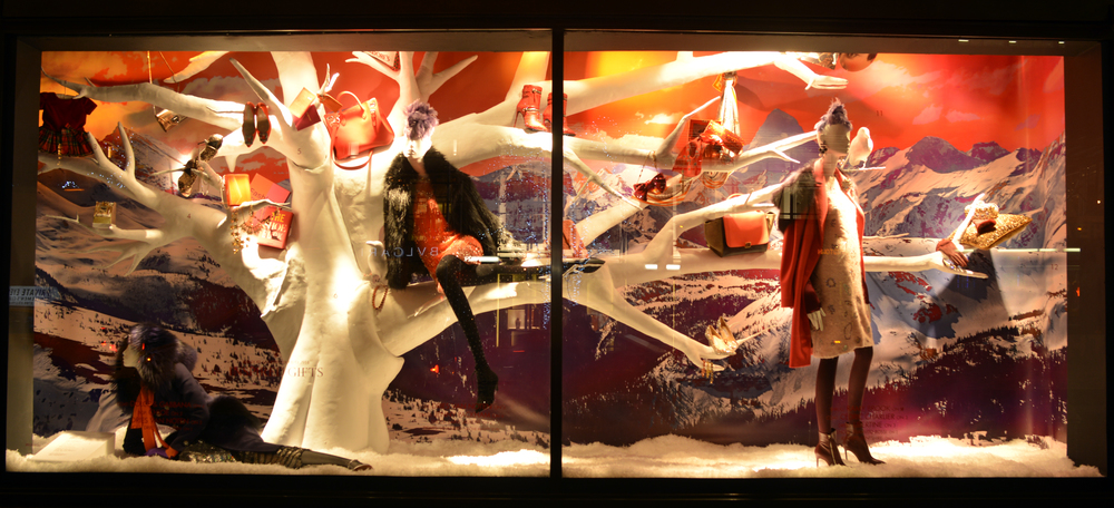 Bergdorf Goodman Window Displays - 57th Street   | Lauren Caron © 2014