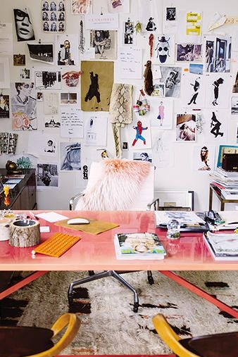 Jenna Lyon's Office | Photograph from Fast Company