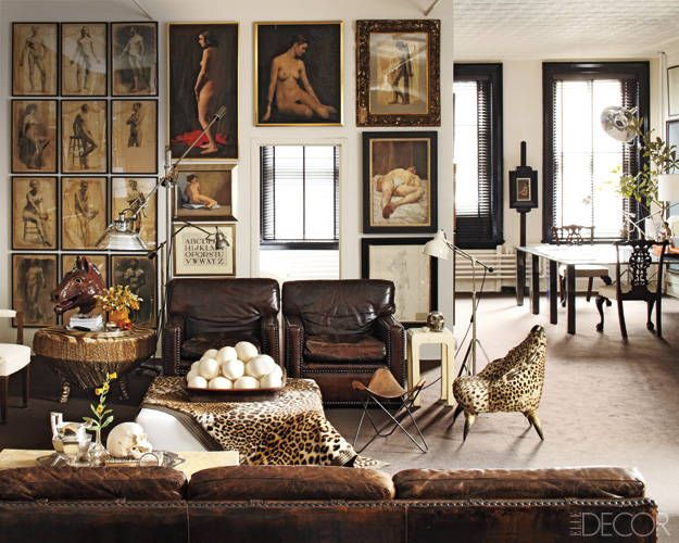 Image from Elle Decor - William Frawley's Manhattan Apartment