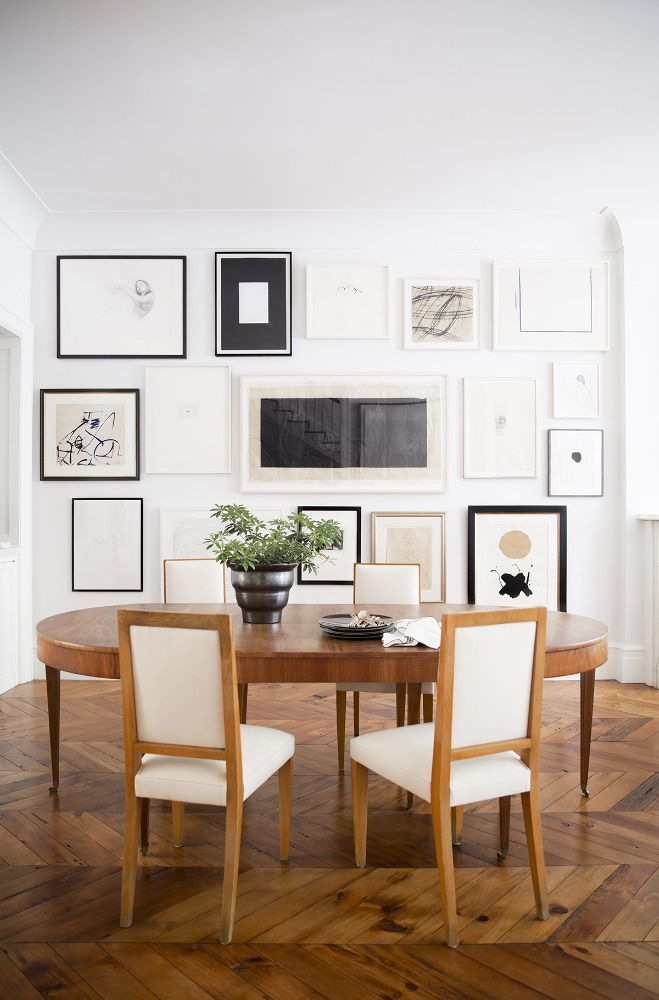 Dining Room Inspiration | Interior Design -   Ali Cayne |   Domino Mag | Photos -   Brittany Ambridge