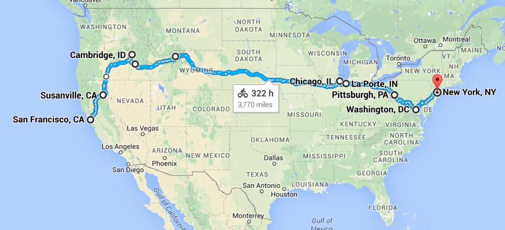 3,770 miles— yowza!