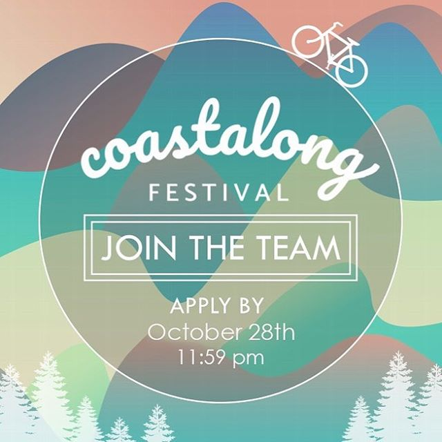 COASTALONG IS BACK! Get ready for another year of amazing music and a great festival! Come join the magic and apply to be on staff! Link is in our bio, and applications are due October 28th at 11:59 PM!