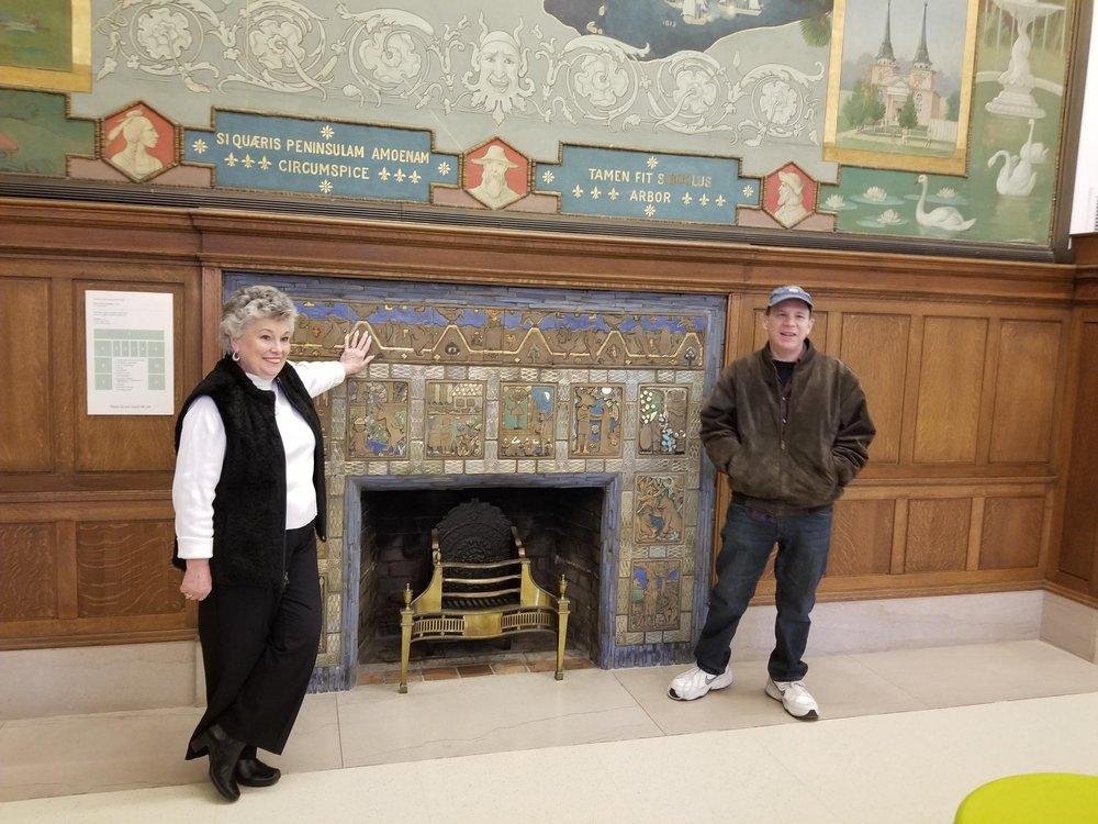 Detroit Public Library & John King Books