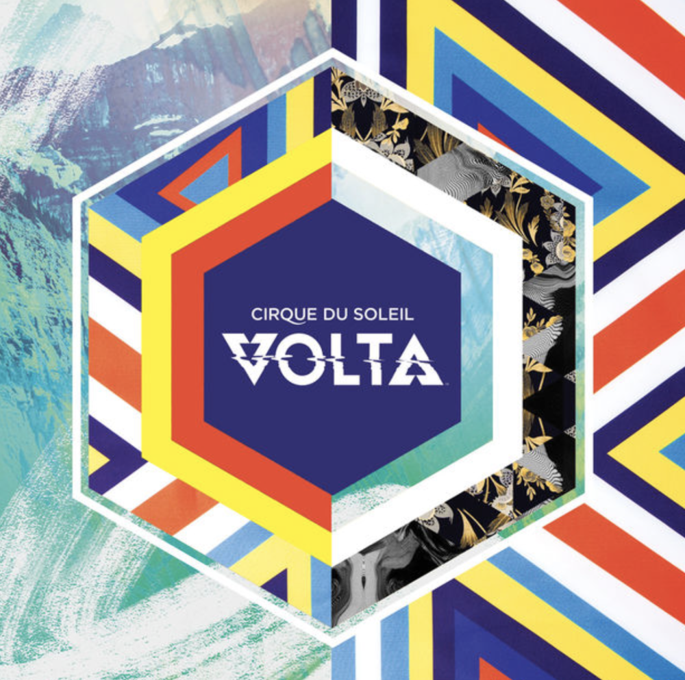 "Hear Ben on the latest Cirque du Soleil album, ""VOLTA"""