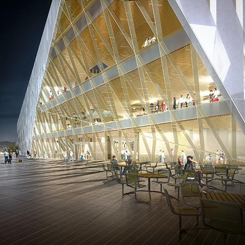 nytt hovedbibliotek i helsinki
