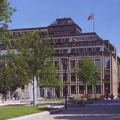 NORGES BANK, OSLO    + VINNERUTKAST 1973