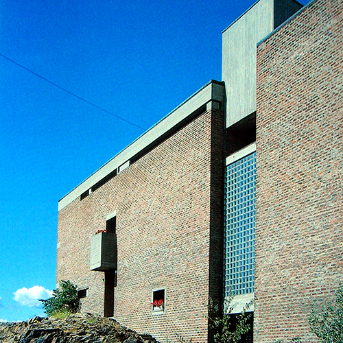 ST. HALLVARD KLOSTER, OSLO   + HARALD SUNDT`S PREMIE 1966 + HOUENS FONDS DIPLOM 1966