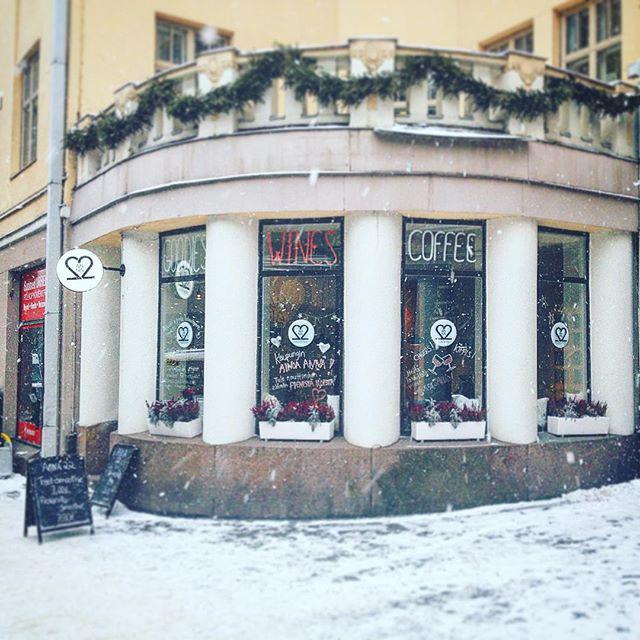 Kaunista talvea kaikille! 😊#anna22 #coffee #winter
