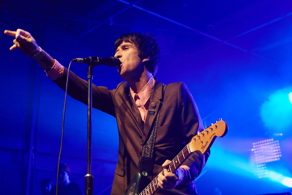 JOHNNY MARR LIVE AT THE ENGINE SHED, LINCOLN.