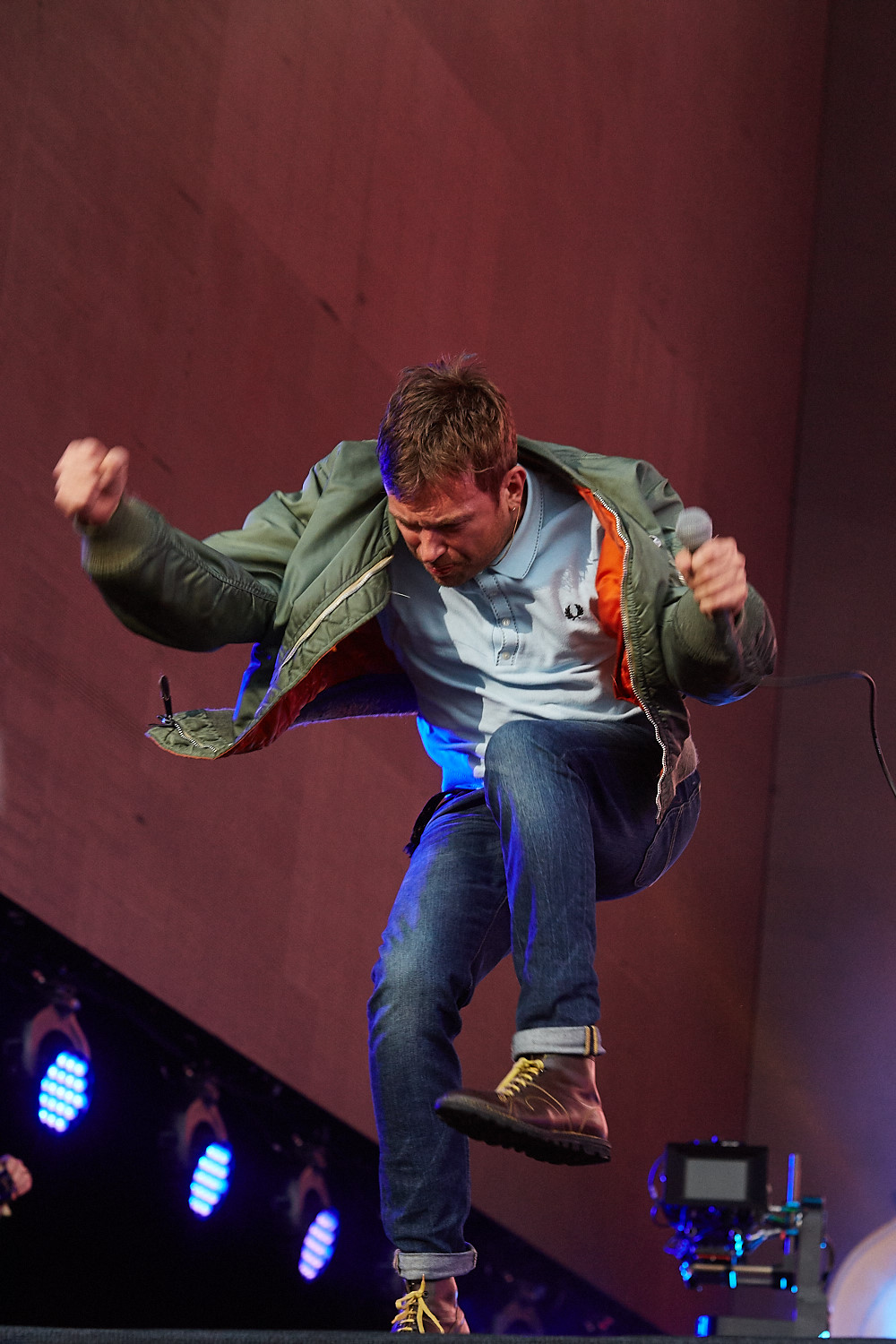 20th June 2015. Blur headline Barclaycard British Summertime in London's Hyde Park.