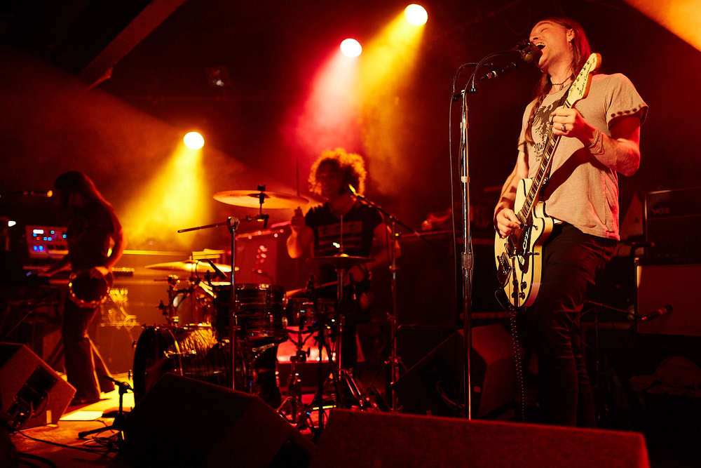 30th July 2015. The Dandy Warhols play live at Sheffield's famous Leadmill venue