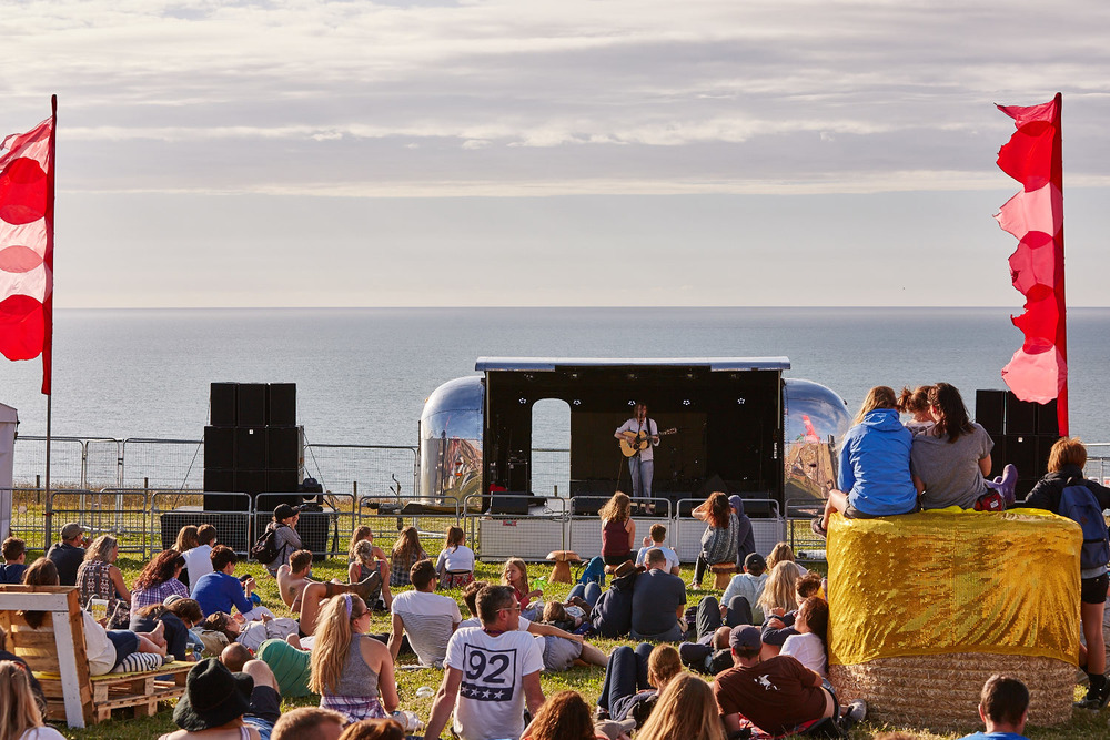 XYZ performing on the second day of Boardmasters music festival, Watergate Bay, Cornwall 2015