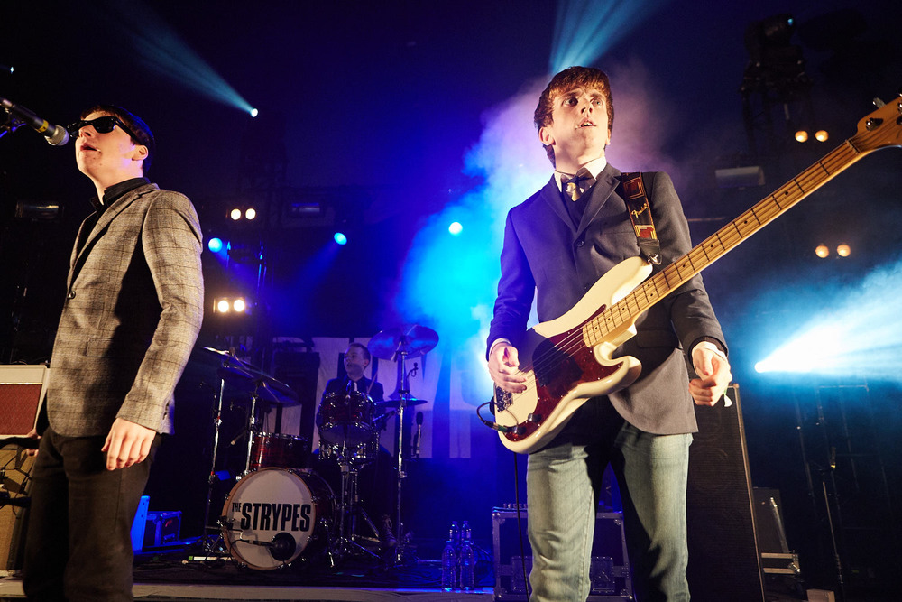 The Strypes performing on the second day of Boardmasters music festival, Watergate Bay, Cornwall 2015