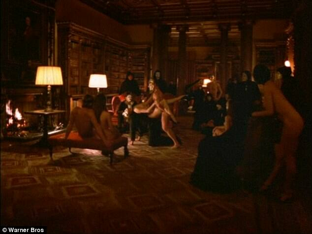 One of the Scenes in the Movie 'Eyes Wide Shut' starring Nicole Kidman and Tom Cruise. This scene was shot in the library of Highclere Castle!