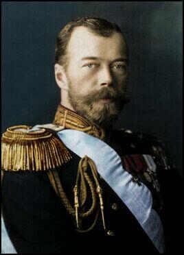 Nicholas II Last Tsar of Russia/Image by Spartacus Educational
