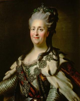 Catherine the Great by Wikipedia