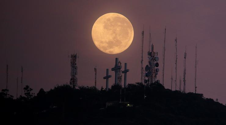 Super-moon November International Business Times