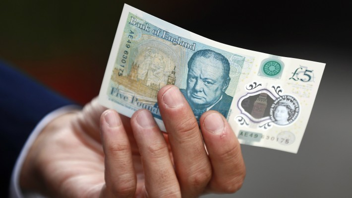 New Five Pound Note Worth Hundreds