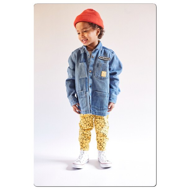 ✖️w i l d✖️ check out @wildkindkids_official from Finland! Amazing designs, sustainable and just look at that denim jacket ! We are a little bit in love 🐾❤️🐾