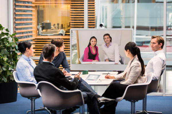 Room-based video conferencing