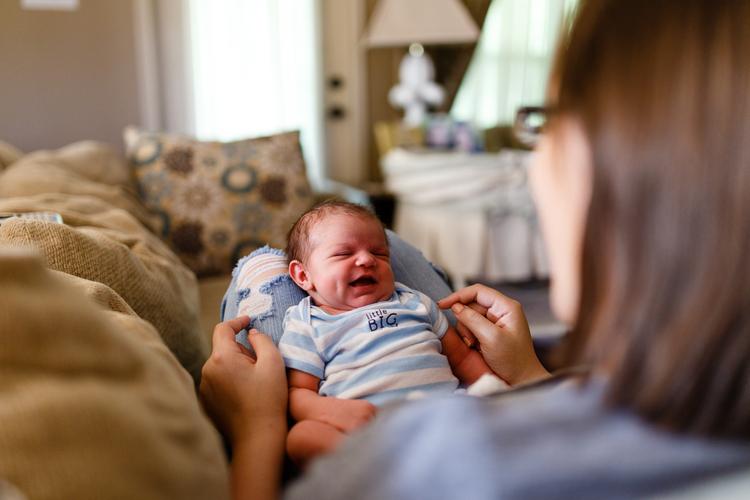 Newborn baby lifestyle portrait lafayette broussard youngsville photographer
